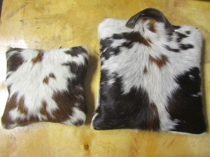My own set of Holy Cow Tallis and Tefillin bags.