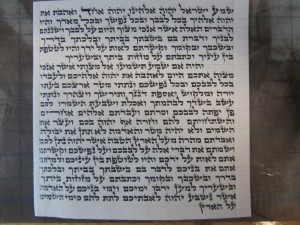 Mezuzah written by Rabbi Greenstein 12cm Beis Yosef T.