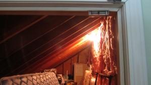 do unfinished attic rooms need mezuzos?