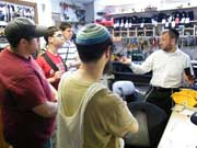 Working with the 7th Grade, Ashar, Monsey, NY