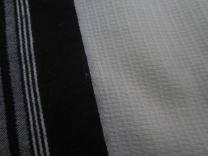 Close up of the geometric weave of the Premiere Design Edition.