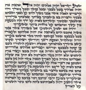 Mezuzah Beis Yosef 15cm Hiller T.
